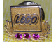 Gear No: pin128  Name: Pin, LEGO Logo with Jewels
