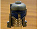 Gear No: bead035pb01  Name: Bead, Minifigure Style Headgear, Helmet Jango Fett with Rocket Pack