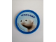 Gear No: Pin237  Name: Pin, Legoland Polar Bear 2 Piece Badge