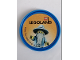 Gear No: Pin244  Name: Pin, Legoland Castle Wizard 2 Piece Badge