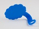Gear No: bubble2  Name: Minifigure Speech Bubble, Cloud Edge, Right