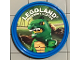 Gear No: pin140  Name: Pin, Legoland Discovery Center Lizard Man 2 Piece Badge