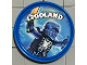 Gear No: pin152  Name: Pin, Legoland Ninjago Jay 2 Piece Badge