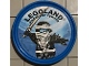 Gear No: pin191  Name: Pin, Legoland Discovery Center Ninjago Zane 2 Piece Badge