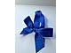 Gear No: ribbon01pb01  Name: Christmas Tree Ornament, Ribbon with Gold Edges and Bricks Pattern