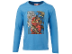 Gear No: tony618  Name: T-Shirt, Ninjago Kai, Jay, Titanium Zane Boys Long Sleeve (Tony 618)