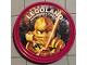 Gear No: pin200  Name: Pin, Legoland Discovery Center Ninjago Golden Ninja 2 Piece Badge