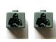 Gear No: bead004pb004  Name: Bead, Square with SW Clone Trooper Pattern