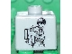 Gear No: bead004pb012  Name: Bead, Square with SW Anakin Pattern