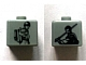 Gear No: bead004pb059  Name: Bead, Square with SW Young Anakin and Jedi Anakin Pattern