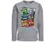 Gear No: tony713  Name: T-Shirt, Ninjago Boys Long Sleeve (Tony 713)