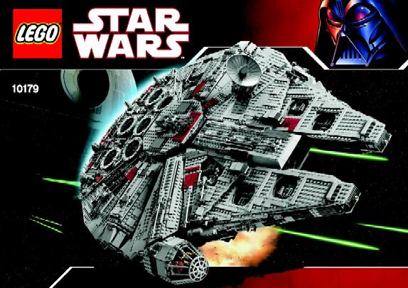 Bricklink Instruction 10179 1 Lego Millennium Falcon Ucs Star