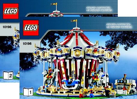 Bricklink Instruction 10196 1 Lego Grand Carousel Sculptures
