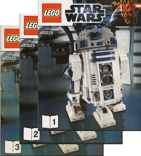 Bricklink Instruction 10225 1 Lego R2 D2 Ucs Star Wars