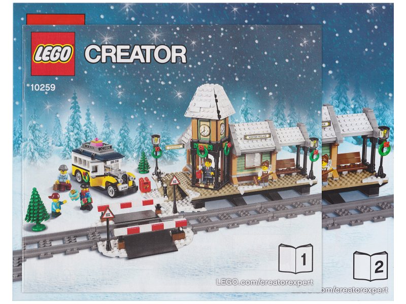 Bricklink Instruction 10259 1 Lego Winter Village Station