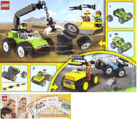 BrickLink - Instruction 10655-1 : Lego Monster Trucks [Creator:Basic Set] -  BrickLink Reference Catalog