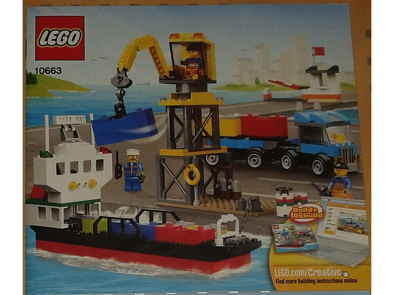 Bricklink Instruction 10663 1 Lego Lego Creative Chest Creator
