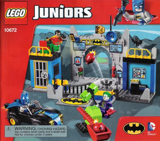 Bricklink Instruction 10672 1 Lego Batman Defend The Batcave