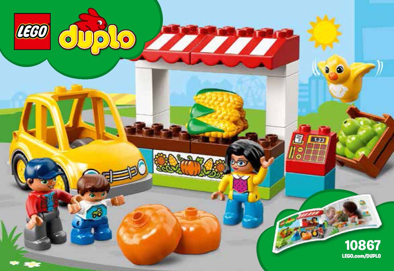Bricklink Instruction 10867 1 Lego Farmers Market Duploduplo