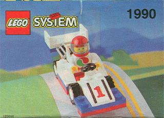 BrickLink - Instruction 1990-1 : Lego F1 Race Car [Town:Classic Town