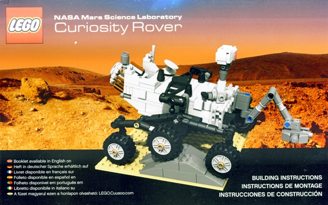 Bricklink Instruction 21104 1 Lego Nasa Mars Science Laboratory