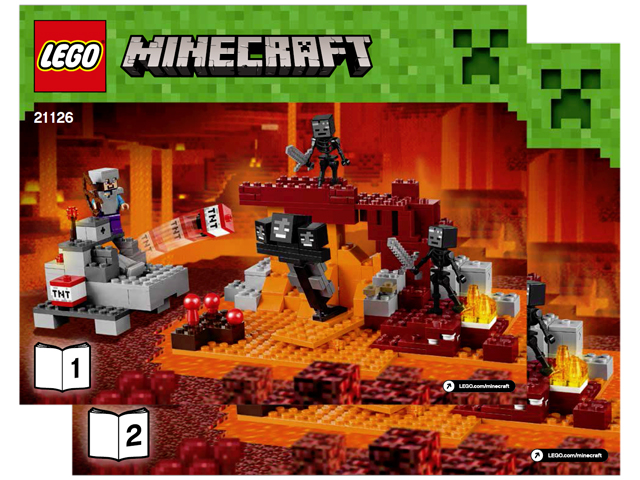 Bricklink Instruction 21126 1 Lego The Wither Minecraft Bricklink Reference Catalog
