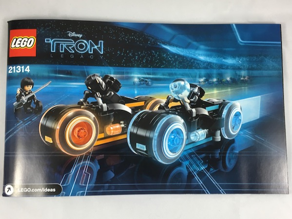 Bricklink Instruction 21314 1 Lego Tron Legacy Lightcycle Lego