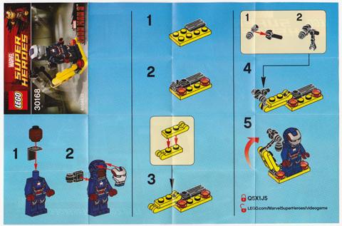 Bricklink Instruction 30168 1 Lego Gun Mounting System Polybag