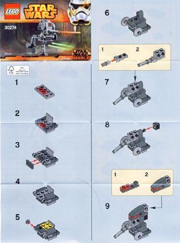 Bricklink Instruction 30274 1 Lego At Dp Mini Polybag Star