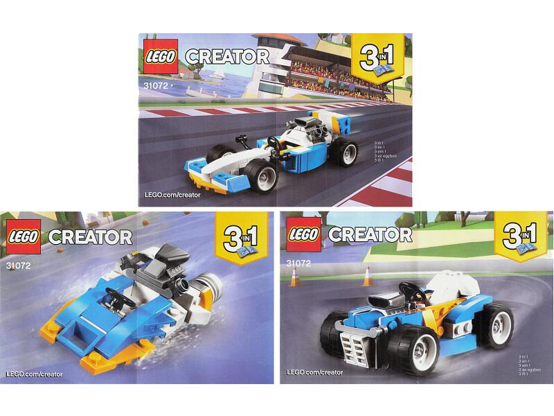 Bricklink Instruction 31072 1 Lego Extreme Engines Creator