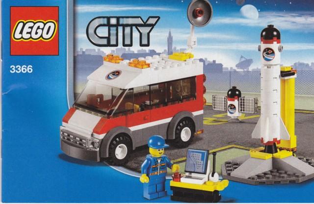 Bricklink Instruction 3366 1 Lego Satellite Launch Pad Town