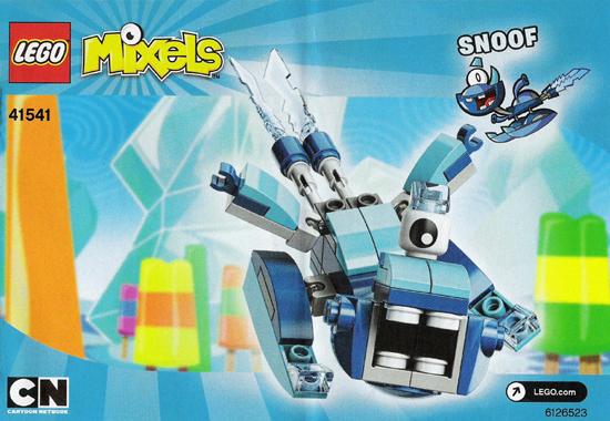 BrickLink - Instruction 41541-1 : Lego Snoof [Mixels:Mixels Series 5] -  BrickLink Reference Catalog