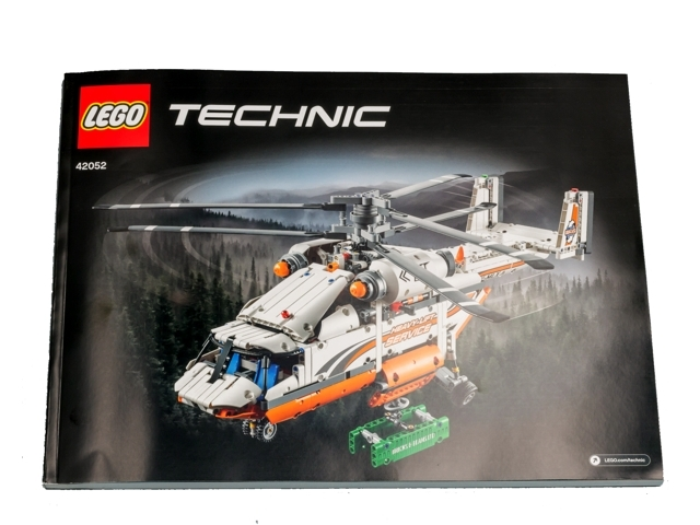 Bricklink Instruction 42052 1 Lego Heavy Lift Helicopter