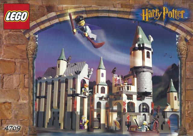 Bricklink Instruction 4709 1 Lego Hogwarts Castle Harry Potter