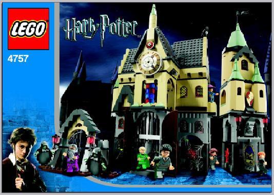 Bricklink Instruction 4757 1 Lego Hogwarts Castle 2nd Edition