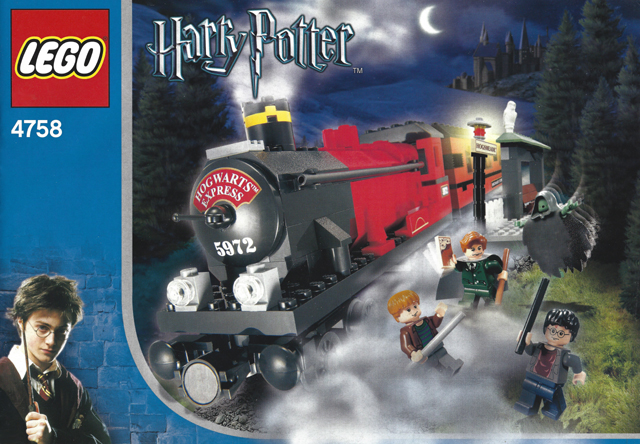 Bricklink Instruction 4758 1 Lego Hogwarts Express 2nd Edition