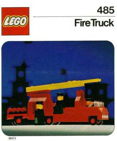 Bricklink Instruction 485 1 Lego Fire Truck Legolandfire