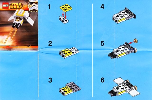 BrickLink - Instruction 5002939-1 : Lego Surprise Pack Polybag, Star ...
