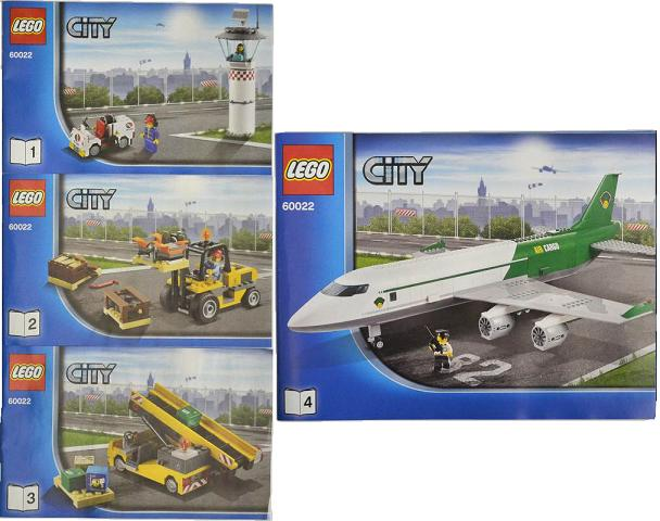 Bricklink Instruction 60022 1 Lego Cargo Terminal Towncity