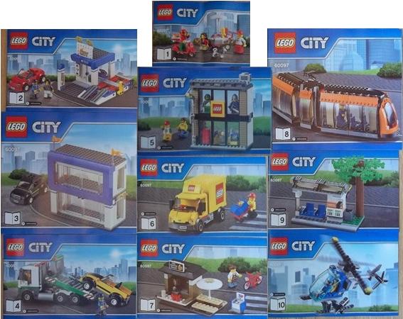 Bricklink Instruction 60097 1 Lego City Square Towncity