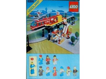 Bricklink Instruction 6399 1 Lego Airport Shuttle Townclassic