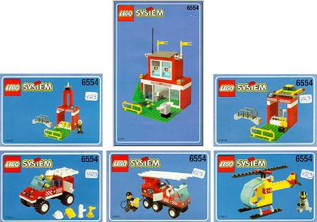 Bricklink Instruction 6554 1 Lego Blaze Brigade Towntown Jr