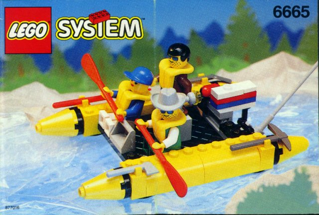 Bricklink Instruction 6665 1 Lego River Runners Townclassic