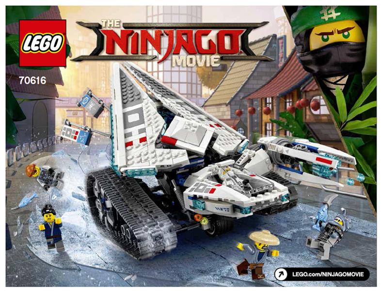BrickLink - Instruction 70616-1 : Lego Ice Tank [The LEGO Ninjago ...