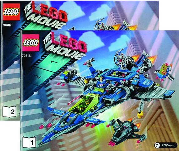 Bricklink Instruction 70816 1 Lego Bennys Spaceship Spaceship