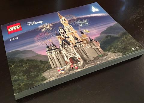 Bricklink Instruction 71040 1 Lego Disney Castle Disney