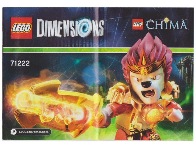 Bricklink Instruction 71222 1 Lego Fun Pack Legends Of Chima