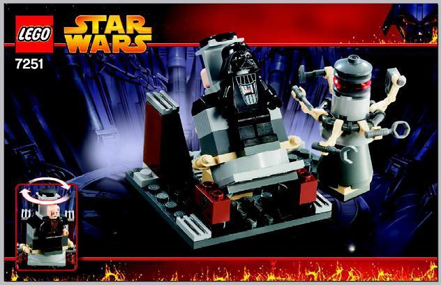 Bricklink Instruction 7251 1 Lego Darth Vader Transformation