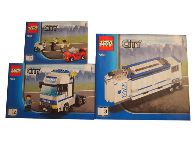 Bricklink Instruction 7288 1 Lego Mobile Police Unit Towncity