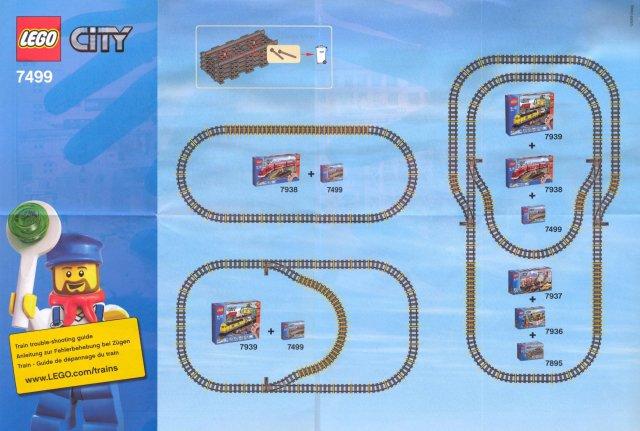 Bricklink Instruction 7499 1 Lego Flexible And Straight Tracks